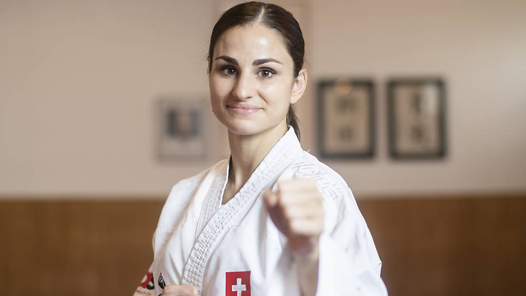 Elena Quirici kämpft bei der Karate-Premiere um Edelmetall