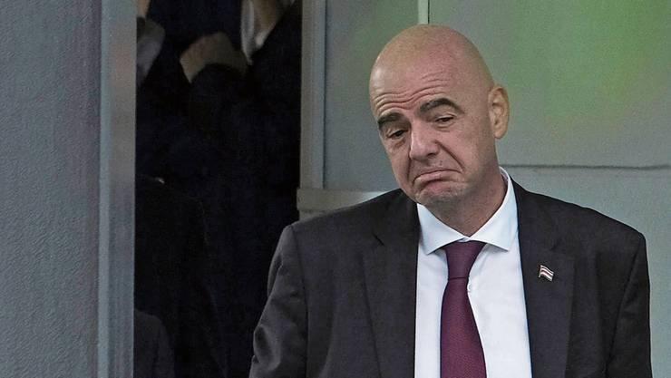 Anstiftung im «Schweizerhof»? Fifa-Chef Gianni Infantino.