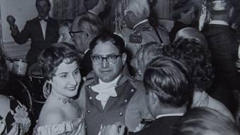 Ernst Brunner feierte gern rauschende Partys mit vielen Gästen. zvg
