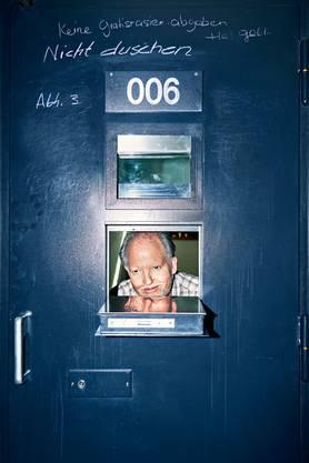 Freiwillig im härtesten Haftregime: Kneubühl in Zelle 006 des Regionalgefängnisses Thun.