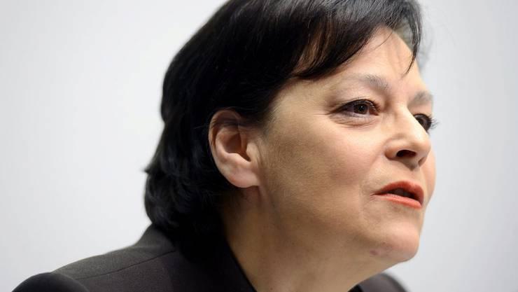 Finanzdirektorin Ursula Gut