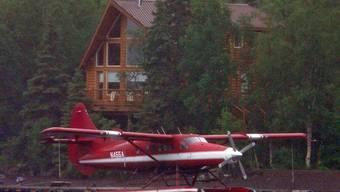 Ein Wasserflugzeug in Alaska. Diese Flugzeuge werden im nördlichsten US-Bundesstaat viel genutzt um in teils nur schwer zugängliche Regionen zu gelangen. (Archiv)