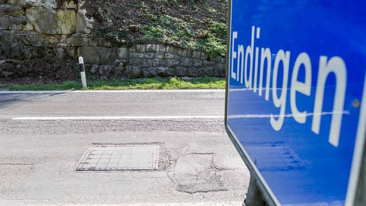 Sprengschächte – wie hier in Endingen – finden sich an strategisch wichtigen Stellen auf dem Kantonsgebiet.