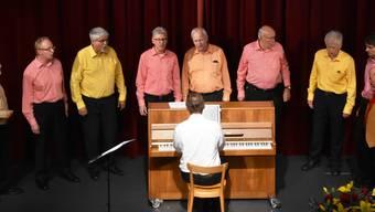 Die Kleinformation des Chores Canta Gaudio.