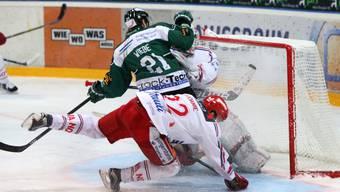 Der EHC Olten konnte gegen Rapperswil den Vorsprung verwalten.