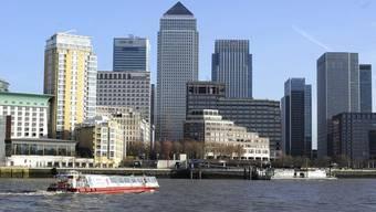 Der Finanzdistrikt von London. (Symbolbild)