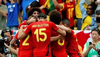 Belgien gewinnt gegen Russland 1:0