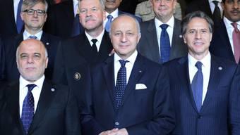 Al-Abadi, Fabius und Blinken an der Konferenz in Paris