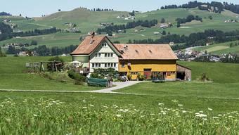 Das Baugesetz von Innerrhoden schützt die traditionellen Streusiedlungen.