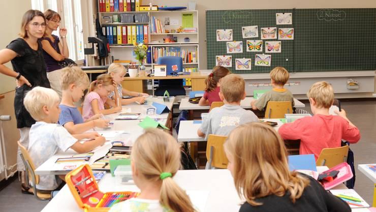 """Die Volksinitiative """"Mehr Qualität"""" fordert nur noch eine Fremdsprache an der Primarschule (Symbolbild)"""