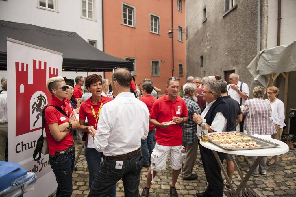 Samstagnachmittag am Churer Fest (© Kevin Suter/FM1Today)