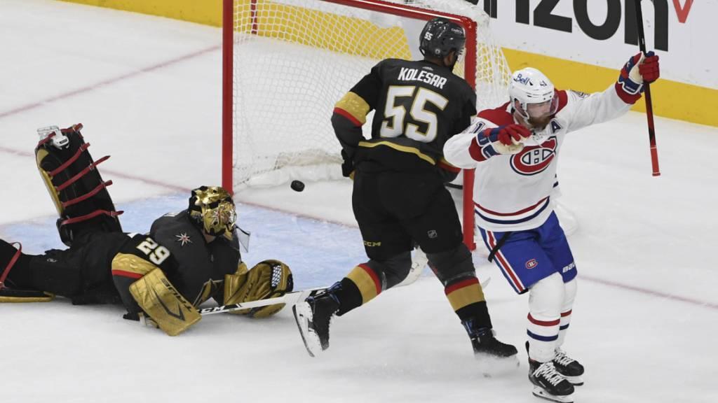 Montreal Canadiens mit Auswärtssieg in Spiel 2