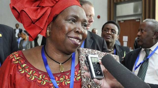 Die neue Komissionschefin der Afrikanischen Union: Nkosazana Dlamini-Zuma