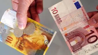 Zehn Euro sind keine 13 Franken mehr Wert
