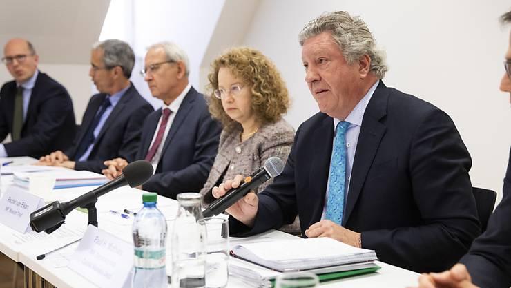 Die IWF-Delegation erläutert ihre Erkenntnisse zur Schweiz. Risiken sieht sie vor allem im Immobilienmarkt.