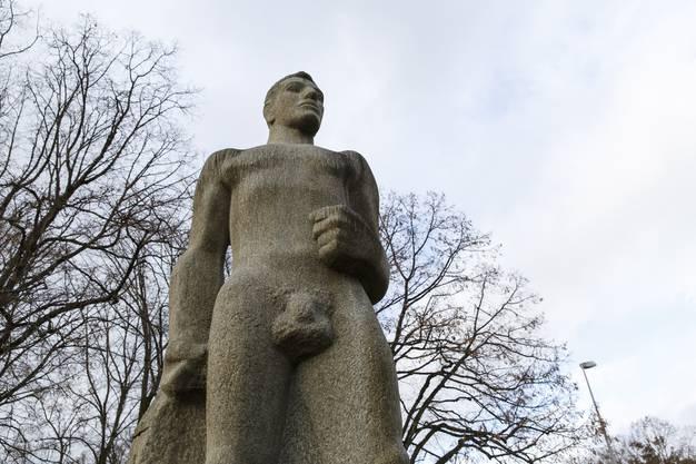 Statue des Bundesrats Obrecht