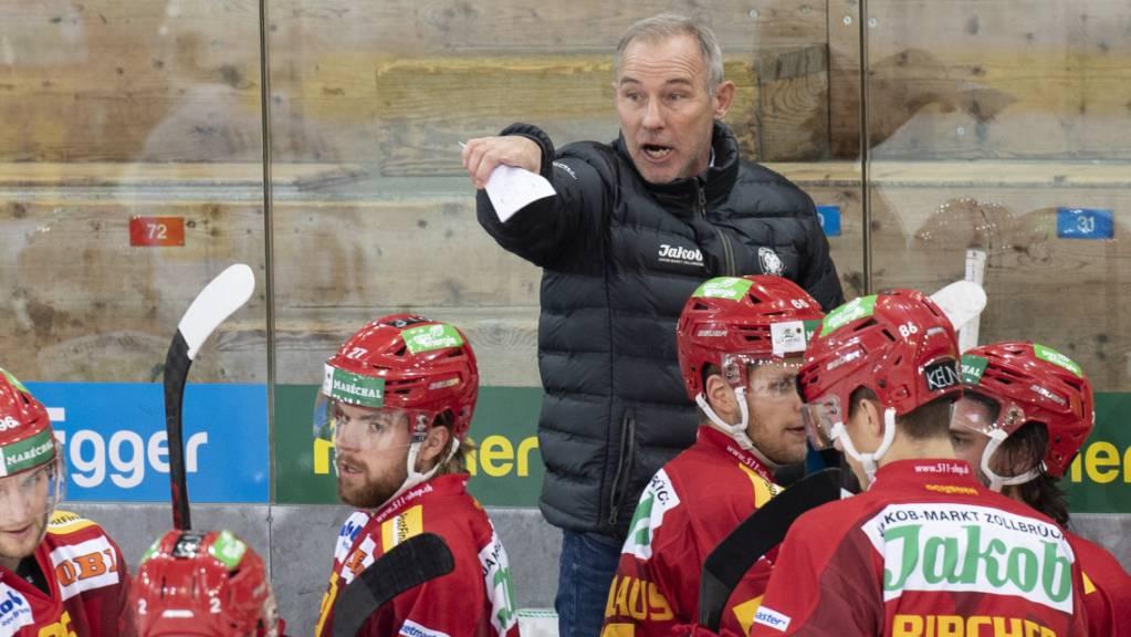 Langnaus Coach Rikard Franzen hat derzeit alle Hände voll zu tun.