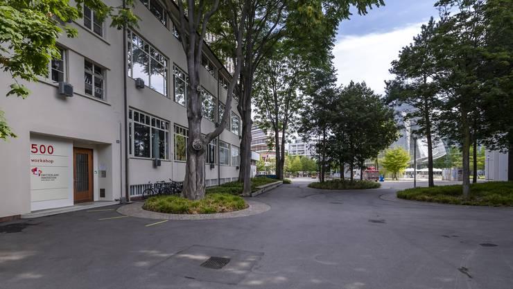 Einst Fabrik, jetzt Start-up-Büro: Das Gebäude bietet 30 fixe und 12 flexible Arbeitsplätze.