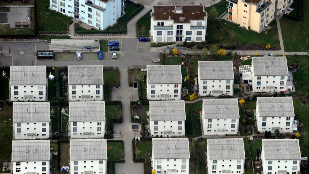 In der Schweiz stehen immer mehr Wohnungen leer
