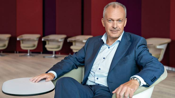 Urs Schaeppi, CEO der Swisscom, würde wohl wegen dem geplanten Lohndeckel weniger Geld verdienen.