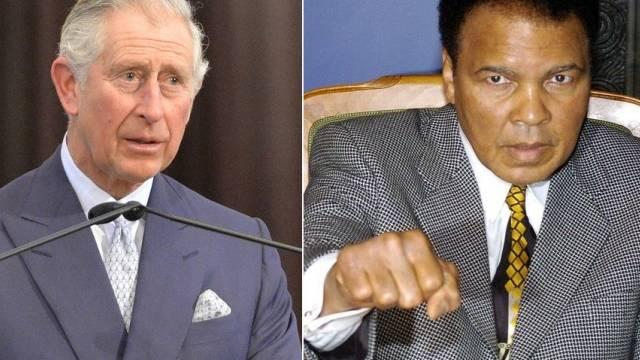 Muhammed Ali (r) lobt Prinz Charles' Umweltengagement (Archiv)