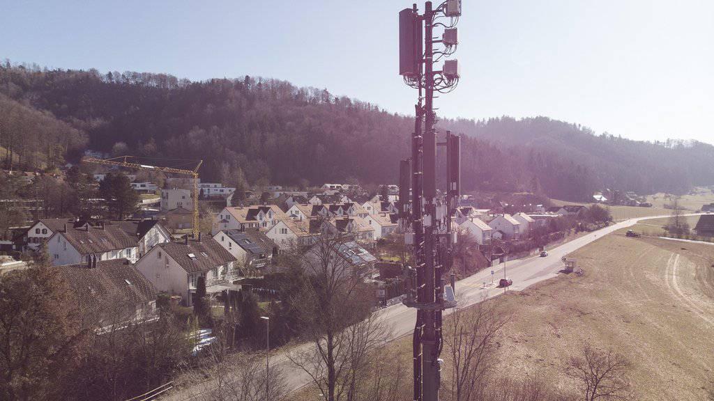 5G in 150 Dörfern und Städten
