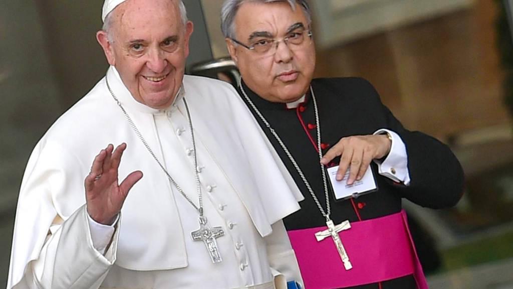 Papst ernennt neue Spitzenleute im Vatikan - Nachfolger für Becciu