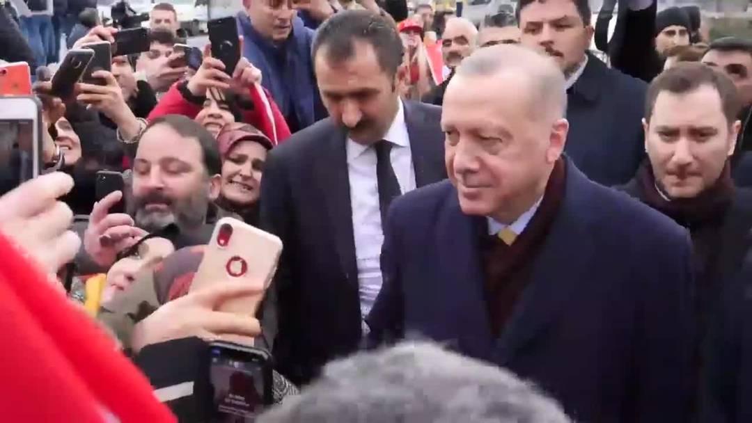 Erdogan in Genf eingetroffen