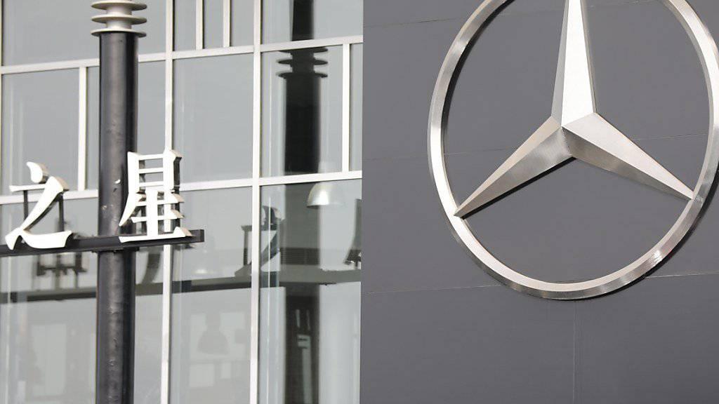 Mercedes hat sich in China mit einem Instagram-Werbefoto in die Nesseln gesetzt. (Archiv)