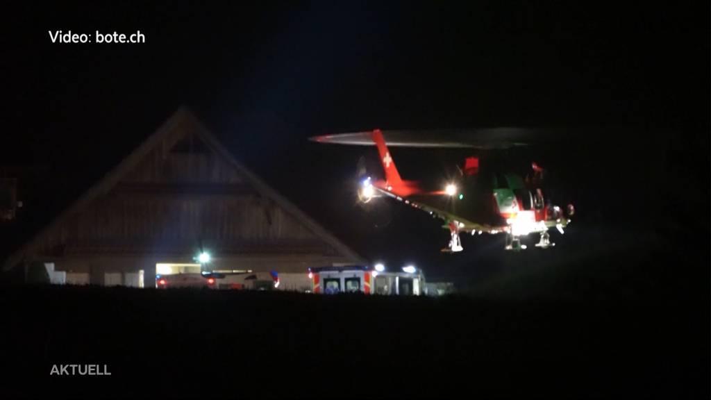 20-Jähriger stirbt nacht Horrorunfall in Küssnacht