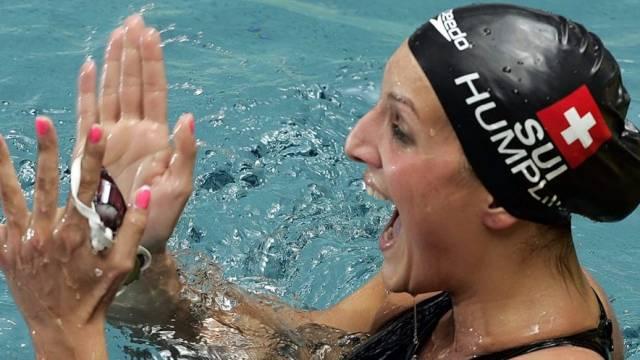 Patrizia Humplik setzte neue Bestmarke über 200m Brust