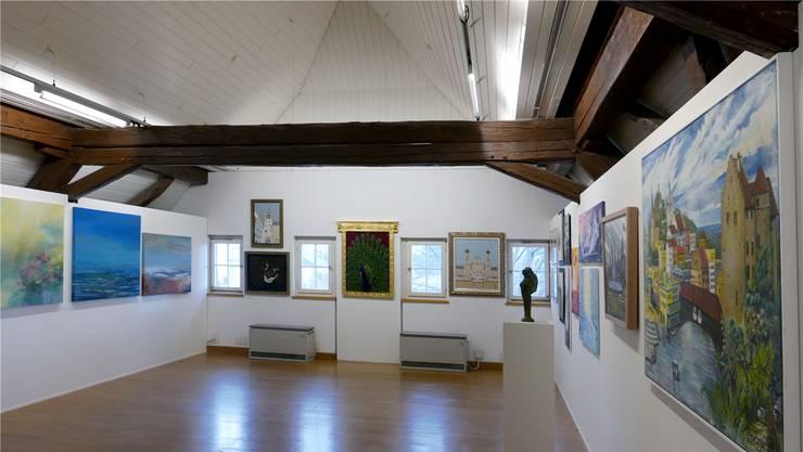 Lust an der Kunst: Die Jahresausstellung präsentiert 283 Werke.