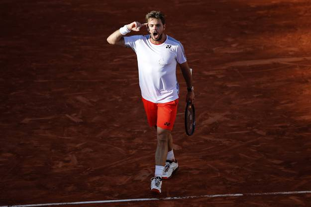 Stan Wawrinka am French Open in Paris, 2. Juni 2019