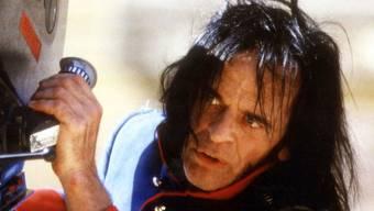 Klaus Kinski auf einem Bild von 1987