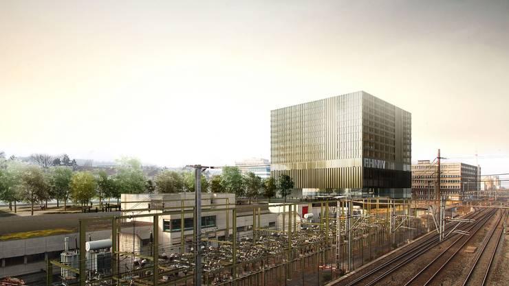 Ein Projekt der FHNW in Baselland: 300 Millionen Franken soll der Neubau in Muttenz kosten