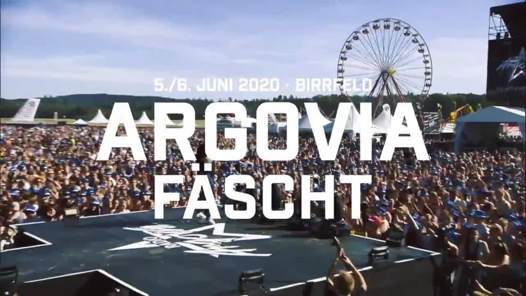 Der Vorverkauf fürs Argovia Fäscht 2020 hat begonnen