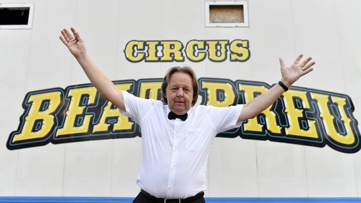 Die Freude von Beat Breu über seinen eigenen Zirkus war von kurzer Dauer – der St.Galler hat alle Vorstellungen abgesagt.