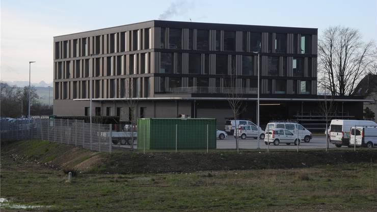 Das Hauptgebäude der SWG an der Brühlstrasse.
