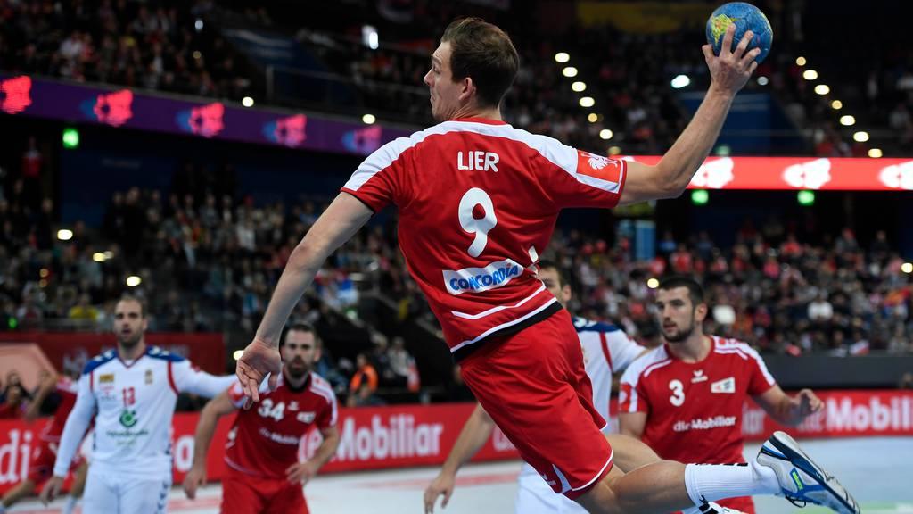 Handball: EM Qualifikation 2020: Serbien - Schweiz