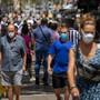 In Spanien tragen alle Maske.