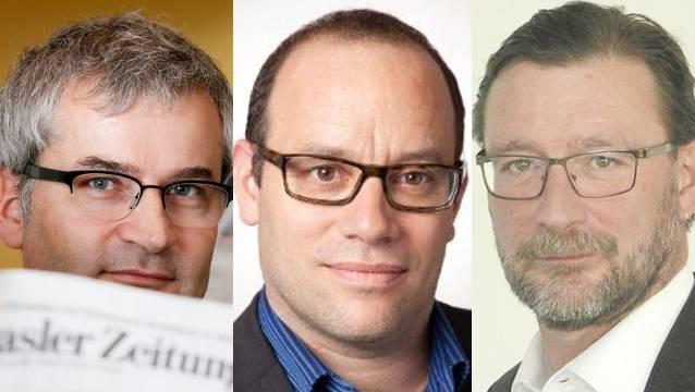 Markus Somm, Christian Degen und David Sieber