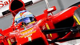 Fernando Alonso Schnellster im ersten freien Training in Austin.