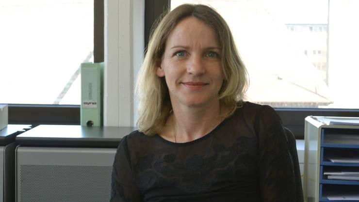 Irene Darwich, Vizepräsidentin Gewerkschaft Syna.