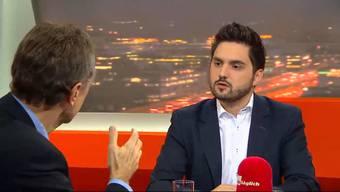 Ein zweiter Bundesratssitz für die SVP? Darüber stritten sich Cédric Wermuth, SP, und Luzi Stamm, SVP, im «TalkTäglich».