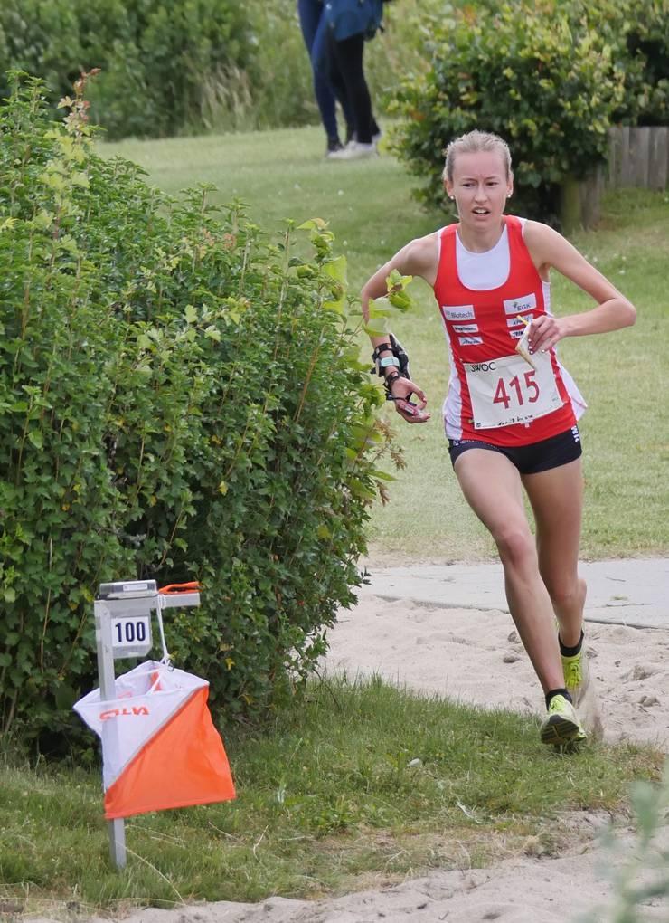 Eline Gemperle unterwegs zur Goldmedaille.