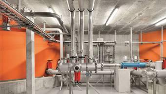 Sauber und rein: So sieht es innerhalb der Recycling Energie AG in Nesselnbach aus, wo aus den Lebensmittelabfällen saubere Energie gewonnen wird.
