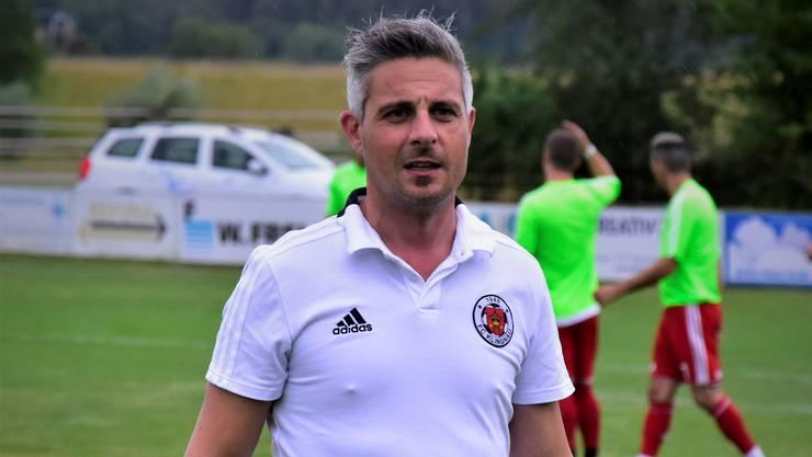 Gianluca Pasanisi ist nicht mehr Trainer des FC Klingnau.
