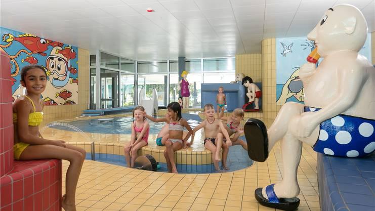 Das Thermalbad in Bad Zurzach