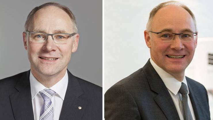 Hansjörg Knecht 2011 und 2015