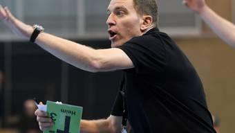 Wartet mit seinem Team weiterhin auf die ersten Punkte in der EM-Qualifikation: Nationalcoach Michael Suter